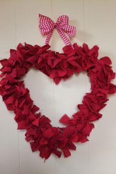 Rag Valentine Wreath by HDSIM