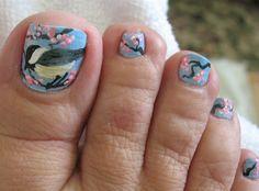 Chickadee by MoesToes - Nail Art Gallery nailartgallery.nailsmag.com by Nails Magazine www.nailsmag.com #nailart