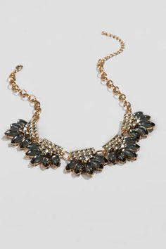 Josephina Jeweled Statement Necklace