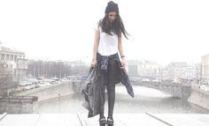 Shop this look on Kaleidoscope (shirt, jeans, shirt) http://kalei.do/XGir5a9BMQdD2Fpe