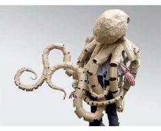 DIY Toilet #Paper #TP Rolls #Octopus