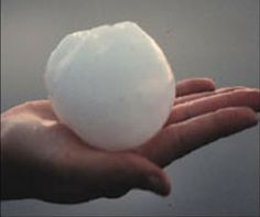 Colorado hail storm | ... time hail storm in Sterling, Colorado. Check out the size of the hail