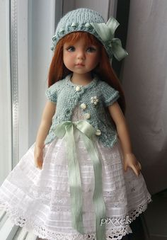 "Heirloom Look for Effner 13"" Little Darlings by pixxells"