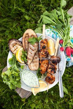 Куриный Шашлык (Chicken Shashlik - Aka. Meat Kebab)