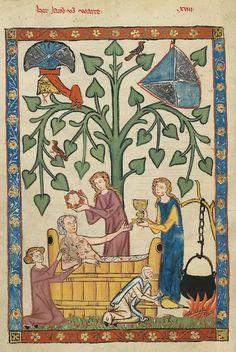 Medieval Hygiene - Ancient History Encyclopedia Medieval Life, Medieval Castle, Medieval Art, Renaissance Art, Medieval Dress, Medieval Drawings, Medieval Paintings, Ancient Egyptian Art, Ancient History
