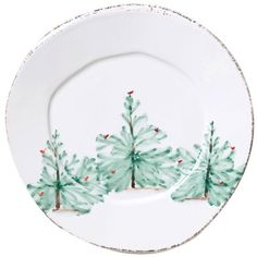 Vietri Lastra Holiday Salad Plate (560 ZAR) ❤ liked on Polyvore featuring home, kitchen & dining, dinnerware, miscellane, holiday dinnerware, holiday salad plates, vietri dinnerware and vietri