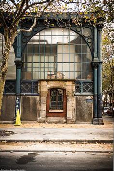 Old Parisian market hall, Art Nouveau style,Carreau du Temple 2009-2014 - Paris©Collection Carreau du Temple