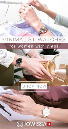 Minimalist watches for women make great gifts! These ladies watches with clean lines and simple. Gh quality designs are perfect for a classy look. Army Watches, Cool Watches, Ladies Watches, Great Gifts For Women, Silver Pocket Watch, Swiss Made Watches, Mesh Band, How To Look Classy, Watch Sale