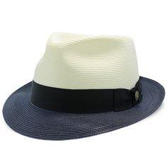 8435fcce26f33 Duetoni - Stetson Milan Straw Fedora Hat   Fashionable Hats