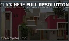 warna cat rumah minimalis merah outdoor indoor008