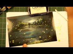 ▶ Stampscapes 101: Video 77. Night Lights - YouTube