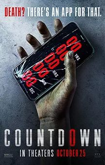 Trailer, TV spots, clips, images and posters for the horror film COUNTDOWN starring Elizabeth Lail. Charlie Mcdermott, Jeepers Creepers 3, Best Horror Movies, Hd Movies, Film Movie, Tichina Arnold, Elizabeth Lail, Stewie Griffin, Box Office Collection