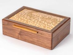 Heartwood Creations has been making finely crafted handmade jewelry boxes since Every custom wooden box is made in our shop in Rockford, Illinois. Custom Wooden Boxes, Small Wooden Boxes, Wooden Jewelry Boxes, Wood Boxes, Wooden Box Plans, Art Boxes, Wooden Art, Small Boxes, Engraved Jewelry Box