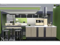 Nolte kitchen by JomSims - Sims 3 Downloads CC Caboodle
