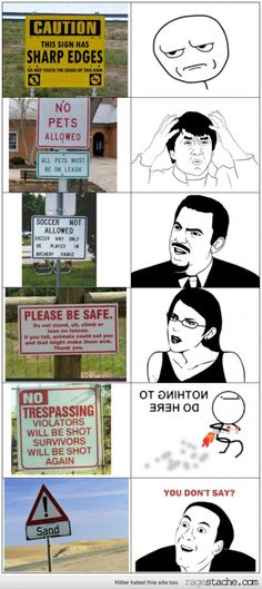 Random Signs of Randomness.  Haha, at the bottom it says: Hitler hated this site to. :D