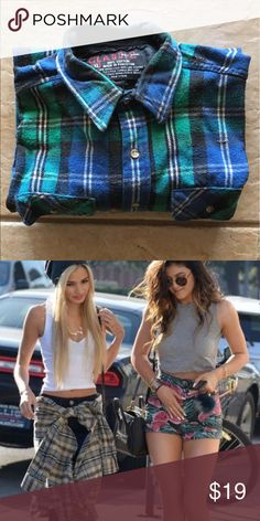 ✨NEW PIX FOR FLANNEL Brand new Flannel never before worn! Size XXL for a larger fit- look. WEAR AROUND YOUR WAIST for such a cute look 😍 Wear it as a dressss! Make it your own and mix n match! Ideas in pix Tops