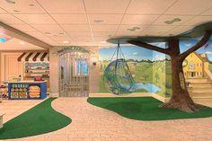 Basement Playroom Ideas Police Themes