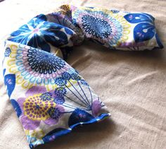 Lavender Flaxseed Neck Wrap Cold Hot Flax Seed Pillow By Aquarianbath