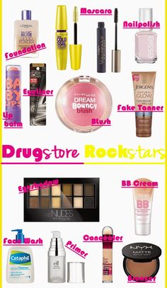 The best drugstore makeup!