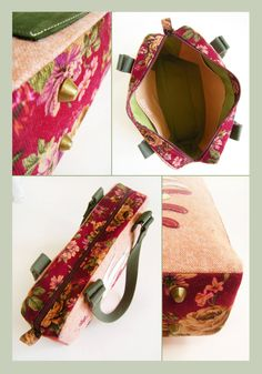 Heavenly Appliqued Shoulder Travel Bag - PDF Sewing Pattern by OrangeCraftsbyKatie