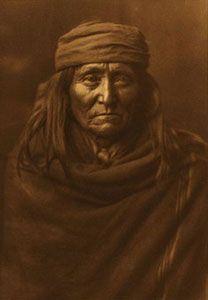 Edward Sheriff Curtis, Eskadi - Apache, Framed Photogravure, circa 1903