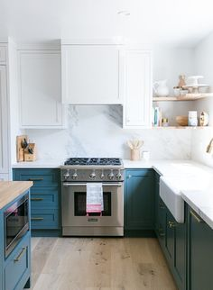 Before and After: A Perfectly Pretty Kitchen Is Now Pretty Perfect