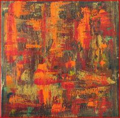 Four Seasons Series, Fall, Acrylic on canvas, 10 X 10, 2011