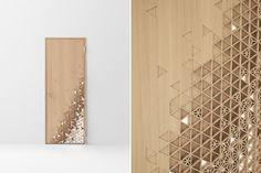 Nendo: Seven doors - Domus Door Design, Wall Design, House Design, Tatami Room, Interior Design Themes, Japanese Woodworking, Asian Home Decor, Minimalist Home Interior, Milan Design