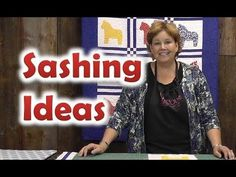 ▶ Quilt Sashing Ideas - Quilting Techniques - Joan with Missouri Star Quilt Jenny Doan Tutorials, Msqc Tutorials, Quilting Tutorials, Missouri Quilt Tutorials, Tutorial Patchwork, Techniques Couture, Quilt Border, How To Finish A Quilt, Quilting Tips