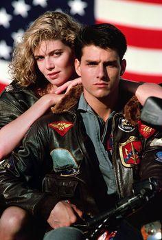Tom Cruise in Top Gun. Costume design by Wingate Jones, John Napolitano, Bobbie Read, James W. Tyson and Lew Richard