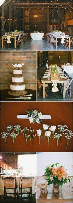 Featured Photographer: onelove photography; rustic wedding idea