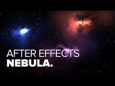 ▶ Nebula & Starfield Tutorial - After Effects - Using Trapcode Particular