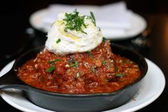 The Giant Meatball You Must Try Before You Die from Lavo in Las Vegas--link goes to recipe