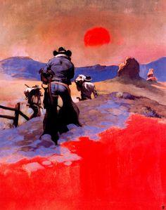 Frank Frazetta - Sunset
