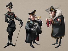 character design03 on Behance Art Inspiration Drawing, Art Reference Poses, Character Outfits, Dieselpunk, Archetypes, Types Of Art, Wwii, Black Men, Concept Art