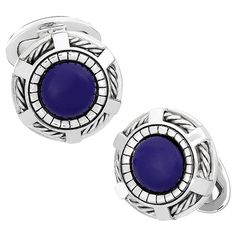 Cufflinks for the Modern Gothic. Classic enough to be your go-to, yet intricate enough to stand out, these gothic-inspired cufflinks subtly top off any formal attire. A hand-etched rope wheel anchors
