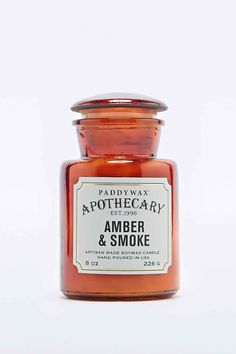 Paddywax - Bougie ambre et fumée - Urban Outfitters