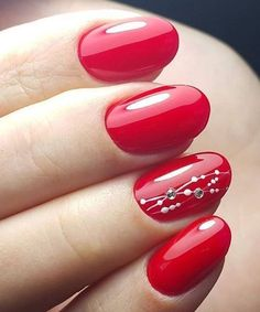 Really Hot Wedding Red Nail Designs How to utilize nail polish? Nail polish in your friend's nails looks perfect, but you Red Nail Designs, Acrylic Nail Designs, Acrylic Gel, Red Nail Art, Bridal Nail Art, Super Nails, Winter Nails, Fall Nails, Spring Nails