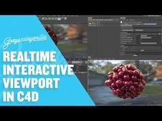 Setup an Interactive Render Window in Cinema 4D for Faster Lighting and Texturing Feedback - YouTube