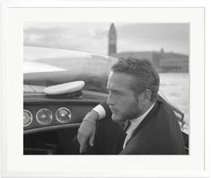 Sonic Editions Paul Newman, Venice, 1963