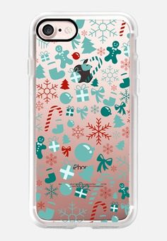 Christmas Holidays iPhone 7 Case by Allison Reich | Casetify USE CODE: R7RAGW for a DISCOUNT!! #CasetifyiPhone7 #iphone7case #iphonecase #case #cases #love #casetify #clearcase #christmas #holidays #gifts #xmas