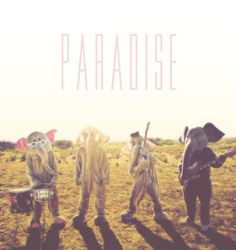 This Coldplay Paradise album cover is so wacky.
