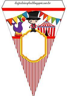 Kits Imprimibles Piquilin: Circo