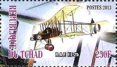 Stamp: R.A.F. F.E. 2b (Cinderellas) (Chad) Col:TD 2013-19/2