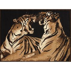 United Weavers Legends Double Tigers Rug 5 3 X 7 2