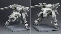 This Metal Gear Rex plastic model kit from figure maker Kotobukiya might not look so impressive if you compare it to the insane (and huge) Rex figure from ThreeA. But this Kotobukiya version has more than a Rex. It also has little people. Metal Gear Rex, Metal Gear Games, Plastic Model Kits, Plastic Models, Metal Gear Solid Series, Metal Gear Rising, Gear Art, Roller Coaster Ride, The Best Is Yet To Come