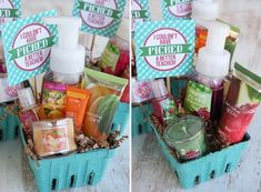 *Fresh Picked Products from Bath and Body Works (Printable Tag: I Couldn't Have Picked A Better Teacher) via Our Best Bites