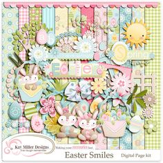 Easter Smiles Page Kit