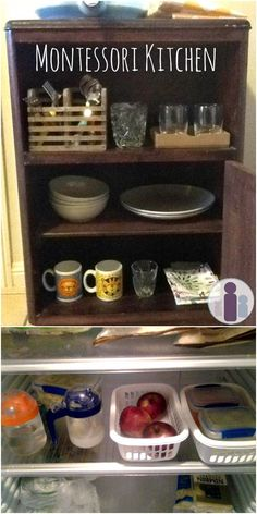 How to set up a Montessori kitchen environment for your children