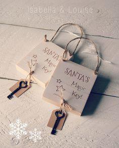 Magic Santa key signs
